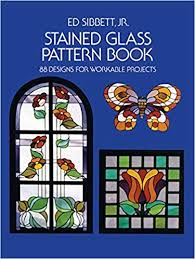 fr stained glass pattern book