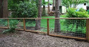Wood And Wire Fence Designsfencing Backyard Fences Fence Design Cheap Fence