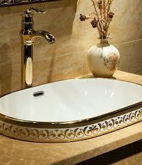 ceramic vessel sink bathroom sink