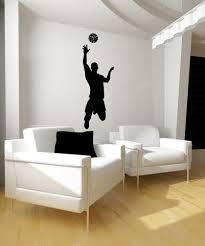 Vinyl Wall Decal Sticker Male Volleyball Player Os Aa788 Stickerbrand