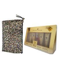 retro gold kit bag makeup kit