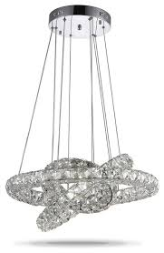 led k9 crystal chandelier pendant lamp