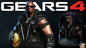 "Gears of War 4 - ""Black Steel Aaron Griffin"" Character Multiplayer  Gameplay! (Esports DLC) - YouTube"