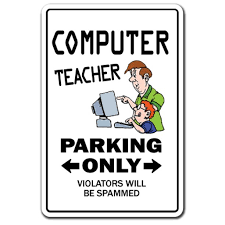 Computer Teacher 3 Pack Of Vinyl Decal Stickers For Laptop Car Walmart Com Walmart Com