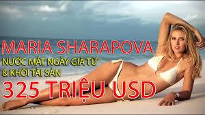NGÔI SAO QUẦN VỢT] Búp bê Nga Maria Sharapova - Giải nghệ trong nước mắt và  tài sản 325 triệu USD - YouTube