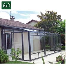 attached greenhouse glass conservatory