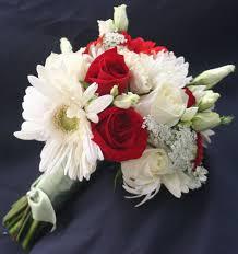 ورد أحمر وابيض حب رومانسي Red And White Wedding Flowers صور ورد