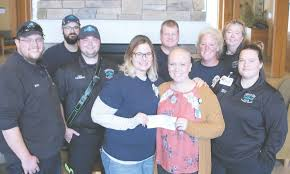 EMS employees, union raise money to support cancer patient   The County  Press