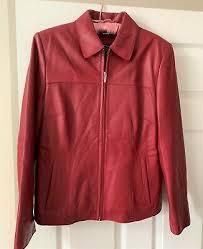 wilsons leather pelle studio red