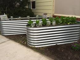 corrugated iron garden beds geelong