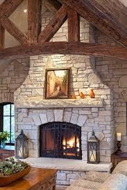 fireplace heart design