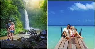bali vs choose your kind of honeymoon destination