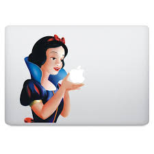 Snow White Macbook Decal V2 Istickr Macbook Decal