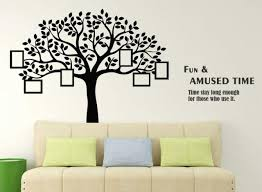 Family Tree With Photo Frames Wall Sticker Art Vinyl Decal Mural Home Room Decor For Sale Online
