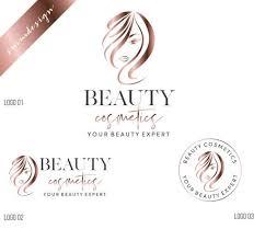 hair salon logo makeup artist logo