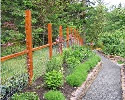 Run Cables To Extend The Height Of A Wire Fence Deer Fence Cheap Fence Garden Fencing