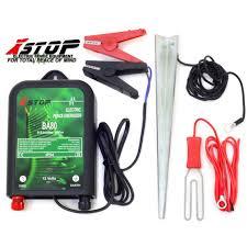 Ba80 12v Battery Powered Electric Fence Fencing Energiser Unit 0 6j Ce Rohs 5060560828495 Ebay