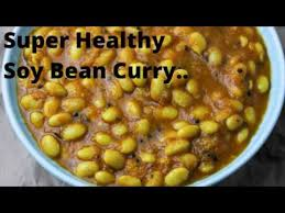 healthy soy bean curry how to make