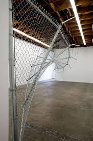 Didier Faustino S Wire Fence At Cincinnati Contemporary Arts Center