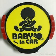2020 Baby In Car Logo Glowing Led Light Stickers Car Wireless Gift Card For Driver From Liulangwilliam 22 11 Dhgate Com