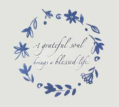 a greateful soul brings a blessed life daily positive quotes