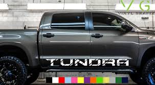 Toyota Tundra Vinyl Decal Sticker Graphics Trd Sport Side Door X2 Any Color 013 Ebay