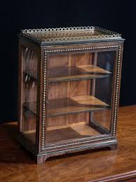 table top display cabinet small glazed