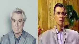 David Byrne Blackface in 1984 Video ...