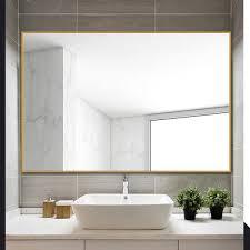 hanging wall mounted mirror bathroom