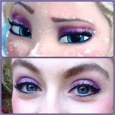 elsa inspired makeup
