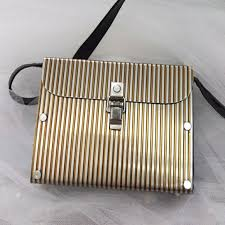 Wendy Stevens Bags | One Of A Kind Stainless Steel Purse | Poshmark