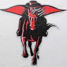 Texas Tech Red Raiders Team Logo Car Decal