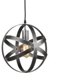 globe pendant light antique