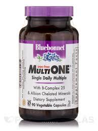 multi one single daily multiple iron