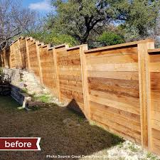 Ready Seal On Twitter Some Before And After Pictures To Start Your Wednesday Off Right Wood Stain Sealer Fence Readyseal Oilbased Naturalcedar Spray Handbrushed Lakeway Lowes Exterior Woodstain Readysealstain Fencestain Natural Cedar