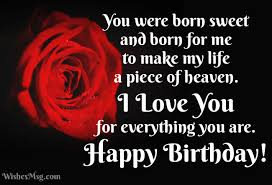 birthday wishes for girlfriend wishesmsg