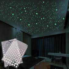 500pcs Wall Stickers Decal Glow In The Dark Baby Kids Bedroom Home Decor Color Stars Luminous Buy At A Low Prices On Joom E Commerce Platform