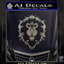 World Of Warcraft Alliance Decal Sticker A1 Decals