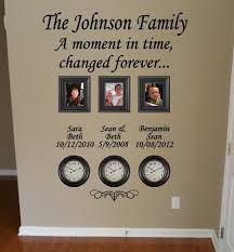 Time Stood Still Family Clock Wall Decal By Giftqueengifts On Etsy 31 99 Family Wall Clock Family Wall Decor Family Wall