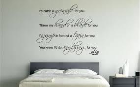 Bruno Mars Grenade Lyrics Music Wall Art Sticker Decal Bedroom Lounge Ebay