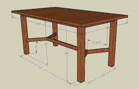 standard dining room table dimensions