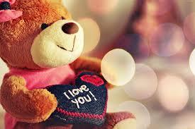 toys bear love valentines day