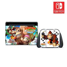 Donkey Kong Vinyl Skin Sticker Set For Nintendo Switch Ebay