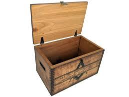 square wooden ammo box