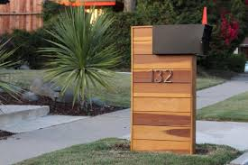 Mid Century Modern Mailbox Instructions Etsy Modern Mailbox Mid Century Modern Mailbox Beautiful Mailbox