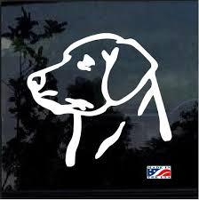 Lab Labrador Decal Dog Stickers Custom Sticker Shop
