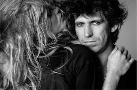 Patti Hansen and Keith Richards of The Rolling Stones, 1981 | Lynn ...