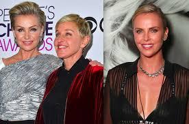"Ellen Degeneres, Charlize Theron ""Showdown"" Over Portia De Rossi Made Up By  Outlet - GossipCop.com"
