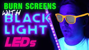 diy blacklight exposure unit for