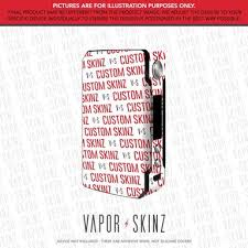 Voopoo Drag 2 Skinz Wraps Decals Skins Vapor Skinz